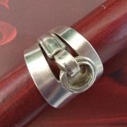 Besteck Schmuck Ring Kuchengabel silber Gabel Löffel Art Deko WMF BSF OKA Wilkens R&B Wellner gefertigt von Marion Heine Soulous Art