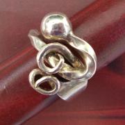 Besteck Schmuck Ring Bowlengabel silber Gabel Löffel Art Deko WMF BSF OKA Wilkens R&B Wellner gefertigt von Marion Heine Soulous Art