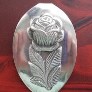 22 Besteck Schmuck Anhänger Rose Collier Löffel silber Art Deko WMF BSF OKA Wilkens R&B Wellner gefertigt von Marion Heine Soulous Art