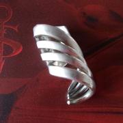 15 Besteck Schmuck Anhänger Spirale Gabel Löffel silber Art Deko WMF BSF OKA Wilkens R&B Wellner gefertigt von Marion Heine Soulous Art