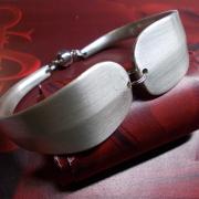 02 Besteck Schmuck Armband Gabel Kuchengabel silber Löffel Kaffeelöffel Magnet Art Deko WMF BSF OKA Wilkens R&B Wellner gefertigt von Marion Heine Soulous Art