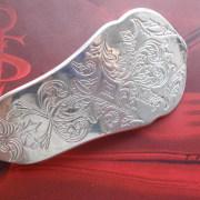 10 Besteck Schmuck Haarspange Ornament Tortenheber silber Hammerschlag Art Deko WMF BSF OKA Wilkens R&B Wellner gefertigt von Marion Heine Soulous Art