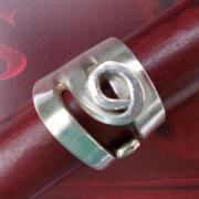 03 Besteck Schmuck Ring Gabel Kuchengabel Kaffeelöffel silber Löffel Art Deko WMF BSF OKA Wilkens R&B Wellner gefertigt von Marion Heine Soulous Art