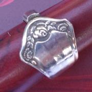 07 Besteck Schmuck Ring Gabel Kuchengabel Kaffeelöffel silber Löffel Art Deko WMF BSF OKA Wilkens R&B Wellner gefertigt von Marion Heine Soulous Art