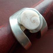 18 Besteck Schmuck Ring Kuchengabel Art Deko WMF BSF OKA Wilkens R&B Wellner gefertigt von Marion Heine Soulous Art