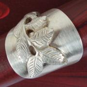 16 Besteck Schmuck Ring Gabel Kuchengabel Kaffeelöffel silber Löffel Art Deko WMF BSF OKA Wilkens R&B Wellner gefertigt von Marion Heine Soulous Art