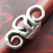 22 Besteck Schmuck Ring Dessertgabel Art Deko WMF BSF OKA Wilkens R&B Wellner gefertigt von Marion Heine Soulous Art