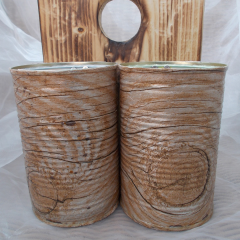 15 Holz Servietten-Technik Besteck Ständer Organizer Aufbewahrung Dekoration Holz Blechdose Konserve Upcycling gefertigt von Marion Heine Soulous Art