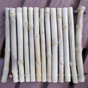 Bambusmatte Topfuntersetzer Dekobrett Untersetzer mit Holzperle mittel made by Soulous Art
