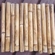 Bambusmatte Topfuntersetzer Dekobrett Untersetzer breit made by Soulous Art