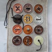 E-Book Reader Hülle Case Hülle Tasche Schutz upcycling leicht Filz beige Nespresso Kaffee Kapseln gefertigt von Marion Heine Soulous Art